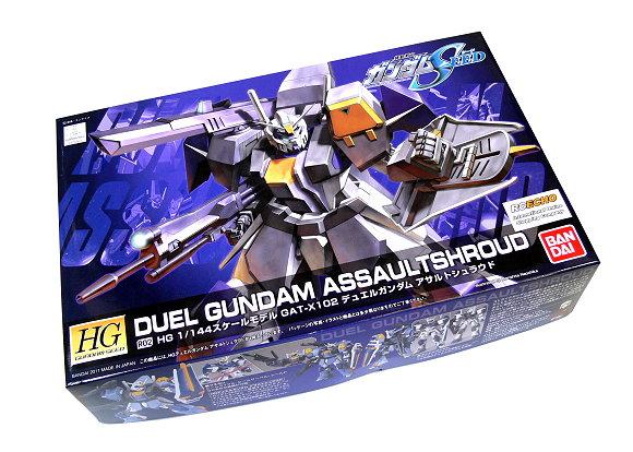 Bandai Hobby Gundam Model 1/144 HG R02 Duel Gundam Assaulshroud 0173367 GH235