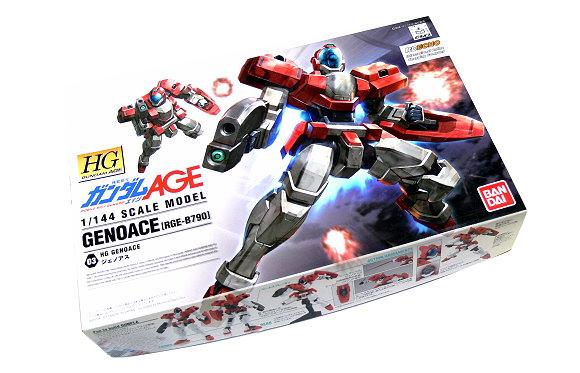 Bandai Hobby Gundam Model 1/144 HG Gundam AGE GENOACE RGE-B790 0171537 GH230