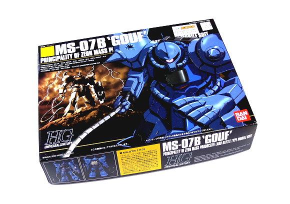 Bandai Hobby Gundam Model 1/144 HG 009 MS-07B GOUF Scale Hobby 0075894 GH215