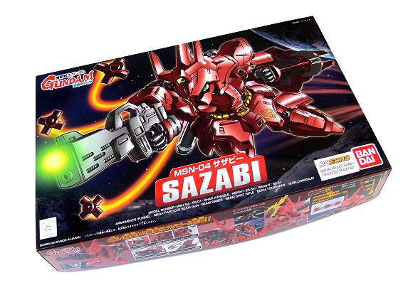 Bandai Hobby Japan BB Gundam 382 MSN-04 SAZABI Model 0181941 GS380