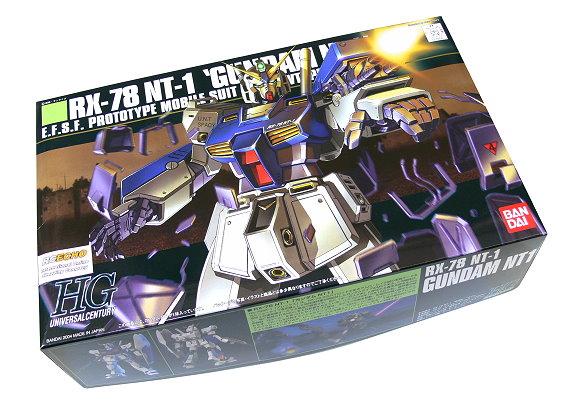 Bandai Hobby Gundam Model 1/144 HG 047 RX-78 NT-1 Gundam NT1 0125650 GH225