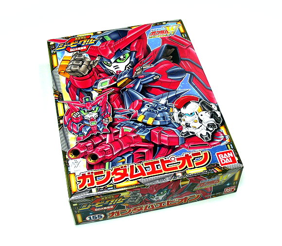 Bandai Hobby Japan BB Gundam SD 155 Epyon Gundam Model 0048816 GS155