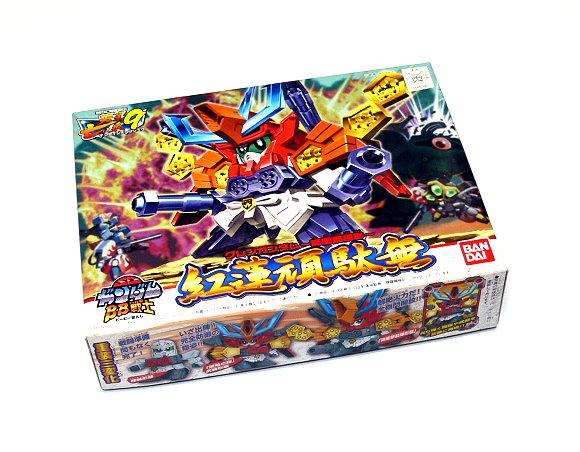 Bandai Hobby Japan BB Gundam SD 189 Guren Kirahagane Gokusai Model 0165390 GS189