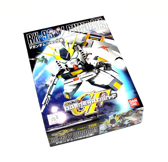 Bandai Hobby Japan BB Gundam SD 209 RX-93 V Gundam Model 0077169 GS209