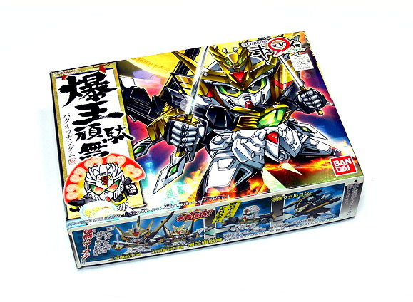 Bandai Hobby Japan BB Gundam SD 230 Bakuou Gundam Model 0108828 GS230