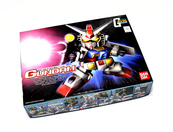Bandai Hobby Japan BB Gundam 329 RX-78-2 Gundam Model 0160227 GS329