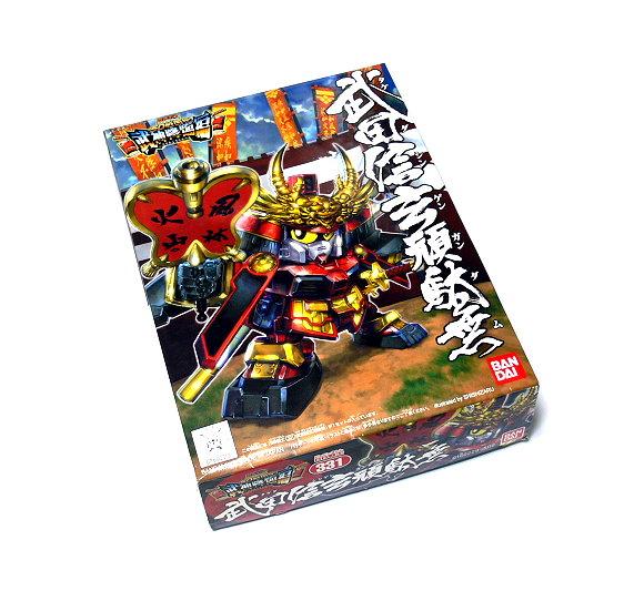 Bandai Hobby Japan BB Gundam SD 331 Shingen Takeda Gundam Model 0160229 GS331