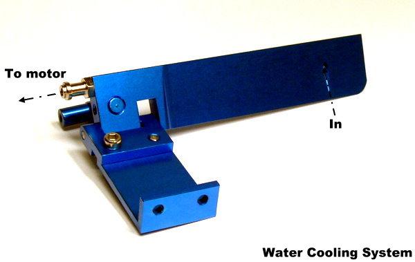 RC Model Ship 95mm Blue Aluminium Cooling R/C Hobby Boat Rudder HR540 | eBay