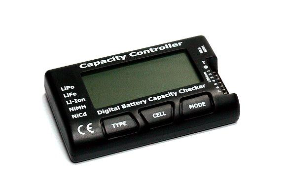 RC CellMeter-7 Digital Battery Capacity Checker LiPo LiFe Li-ion NiMH Nicd BK201