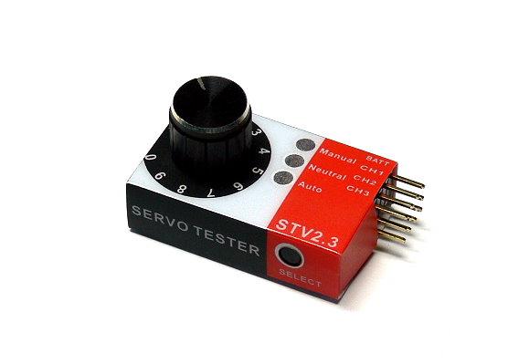 CopterX RC Model STV2.3 R/C Hobby Master Servo Tester AC730
