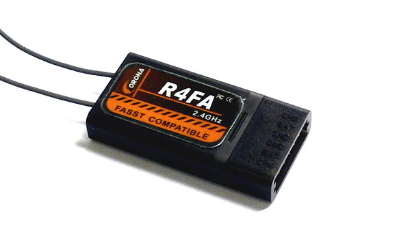Corona RC Model R4FA FASST Compatible 2.4GHz R/C Hobby Receiver RV105
