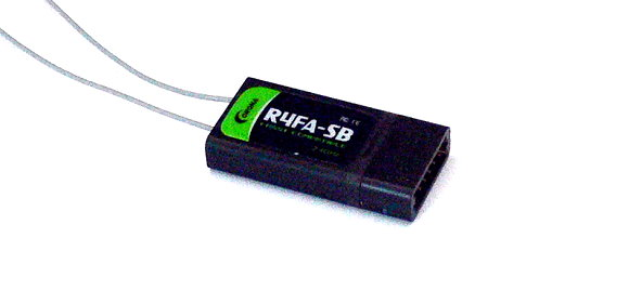 Corona RC Model R4FA-SB FASST Compatible 2.4GHz R/C Hobby Receiver RV106