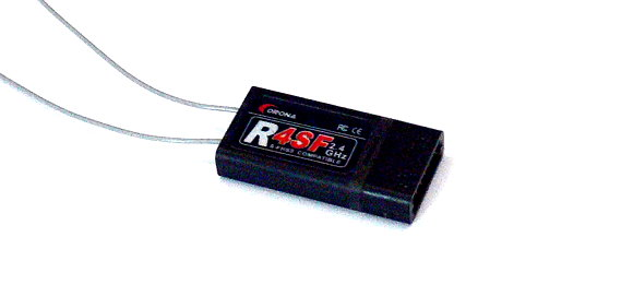 Corona RC Model R4SF S-FASS Compatible 2.4GHz R/C Hobby Receiver RV104