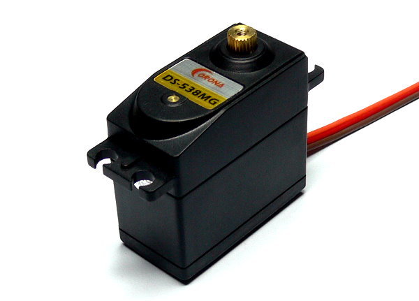 Corona RC Model DS-538MG Metal Gear R/C Hobby Digital Standard Servo SS876