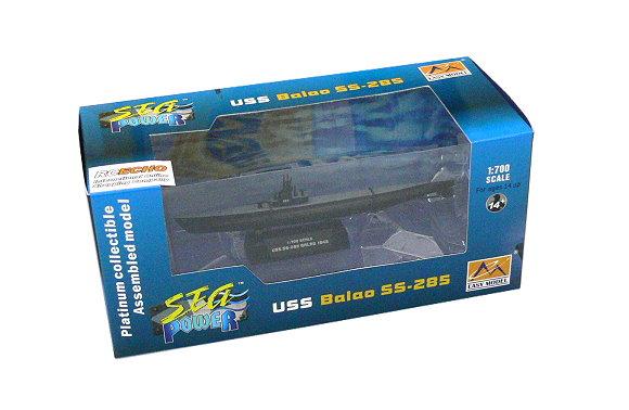 EASY MODEL Military 1/700 War Ship USS Balao SS-285 1943 (Finished) 37310 E7310