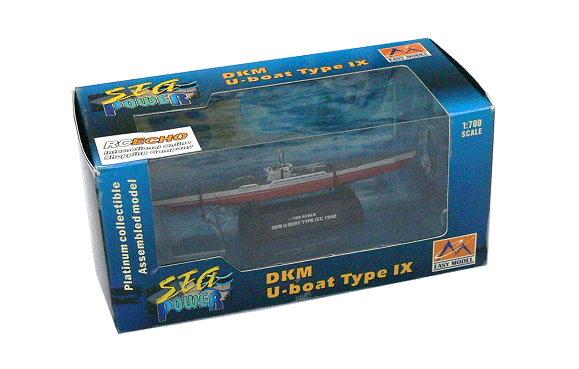 EASY MODEL Military 1/700 War Ship DKM U-boat Type IXC 1942 Finished 37320 E7320