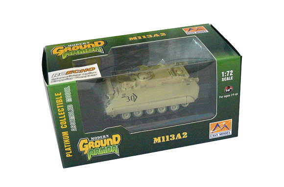 EASY MODEL Military Model 1/72 M113A2 3rd Bat Headguarters Finished 35008 E5008