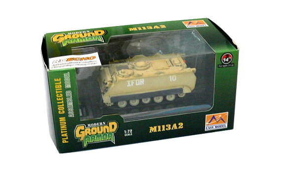 EASY MODEL Military Model 1/72 M113A2 US Army (Finished) 35009 E5009