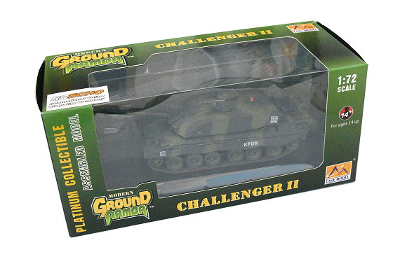 EASY MODEL Military Model 1/72 Challenger II British Army Finished 35010 E5010