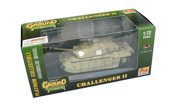 EASY MODEL Military Model 1/72 Challenger II (Finished) 35012 E5012