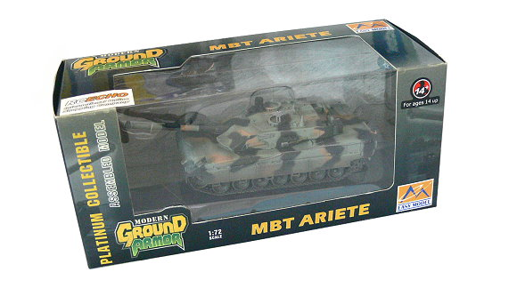 EASY MODEL Military Model 1/72 MBT Ariete (Finished) 35014 E5014