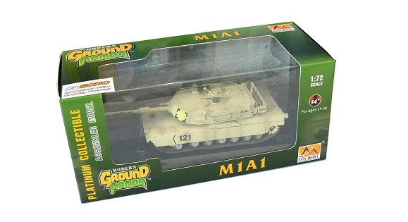 EASY MODEL Military Model 1/72 M1A1 (Finished) 35030 E5030