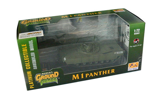 EASY MODEL Military Model 1/72 M1 Panther (Finished) 35048 E5048