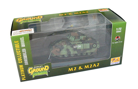 EASY MODEL Military Model 1/72 M2 & M2A2 (Finished) 35054 E5054
