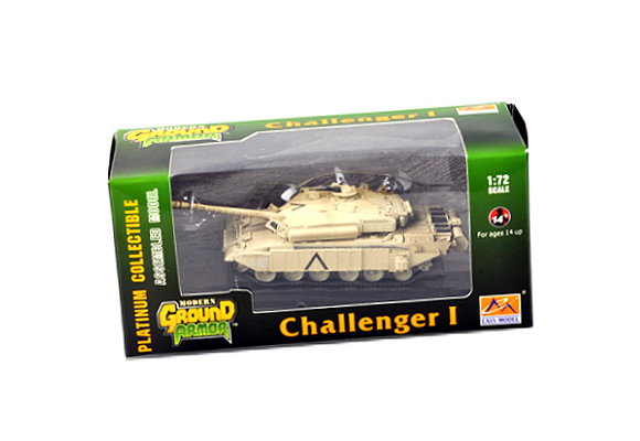 EASY MODEL Military Model 1/72 Challenger I (Finished) 35106 E5106