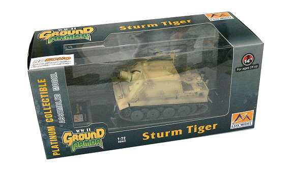 EASY MODEL Military Model 1/72 Sturm Tiger 1001 (Finished) 36100 E6100