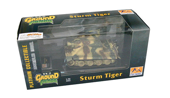 EASY MODEL Military Model 1/72 Sturm Tiger 1001 (Finished) 36101 E6101