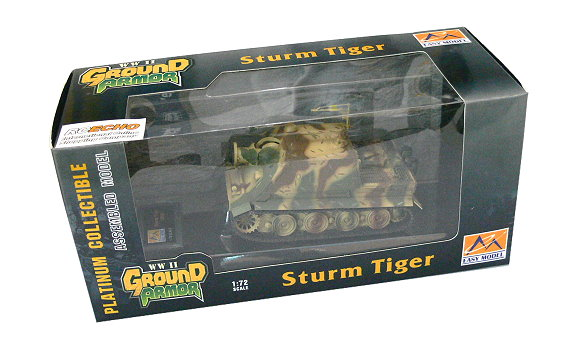 EASY MODEL Military Model 1/72 Sturm Tiger 1002 (Finished) 36102 E6102