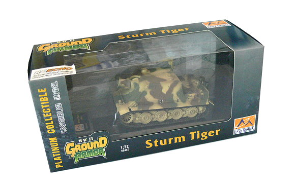 EASY MODEL Military Model 1/72 Sturm Tiger 1001 (Finished) 36103 E6103