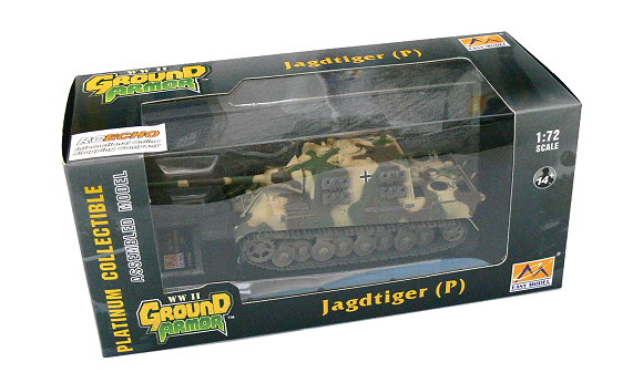 EASY MODEL Military Model 1/72 Jagdtiger (P) Germany 1944 Finished 36113 E6113