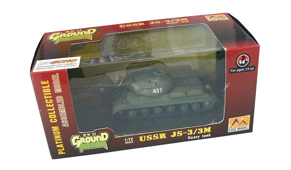 EASY MODEL Military Model 1/72 USSR JS-3/3M Chinese Border Finished 36247 E6247