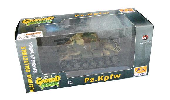 EASY MODEL Military Model 1/72 Pz.Kpfw 754 ( r ) Abt 56 (Finished) 36287 E6287