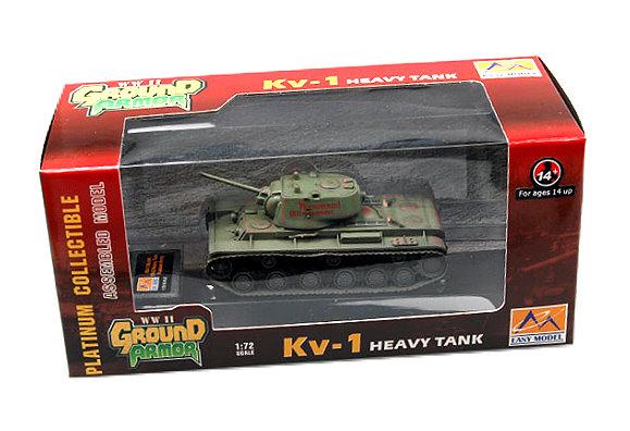 EASY MODEL Military Model 1/72 KV1 Heavy Tank Russian Army Finished 36289 E6289