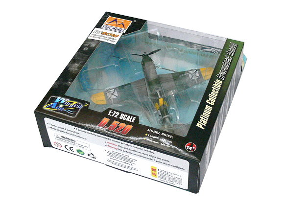 EASY MODEL Aircraft Model 1/72 D.520 Bulgaria D.520 (Finished) 36339 E6339