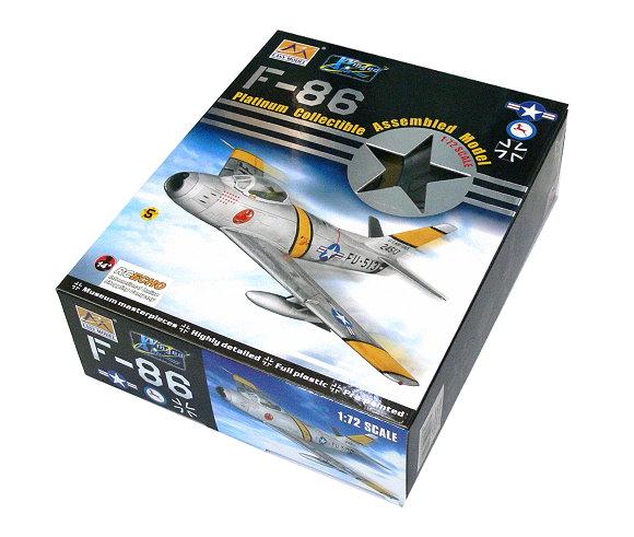 EASY MODEL Aircraft Model 1/72 F86F30 39FS/51 FW Flown Chrles McSain 37104 E7104