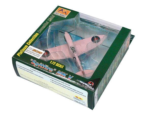 EASY MODEL Aircraft Model 1/72 Spitfire MK V RAF 140 Sqn 1941 37212 E7212