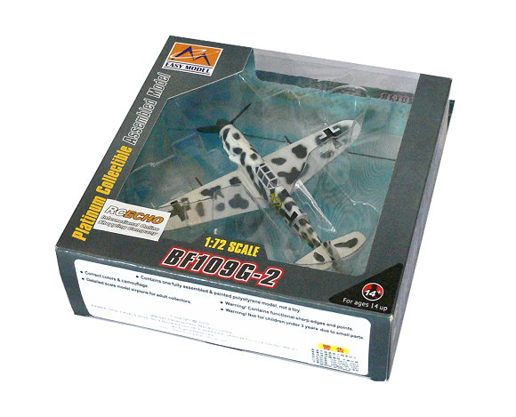 EASY MODEL Aircraft Model 1/72 BF109G-2 VI/JG5 1943 Finland 37254 E7254