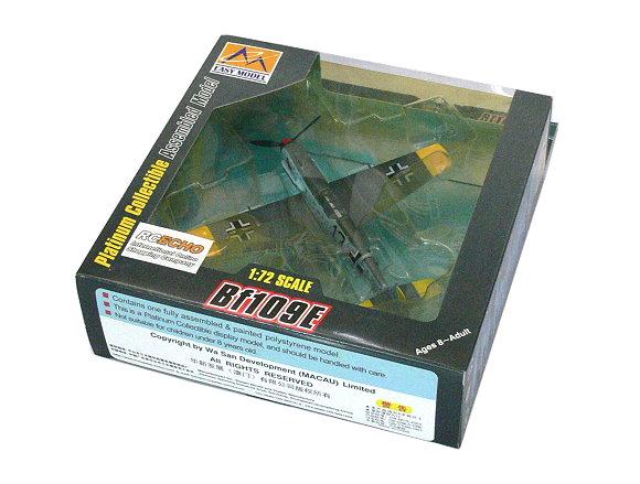 EASY MODEL Aircraft Model 1/72 Bf109E 2/JG3 (Finished) 37282 E7282