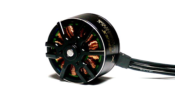EMAX Model MT3515 KV650 Outrunner Brushless Motor & Adaptor (CCW Thread) OM049