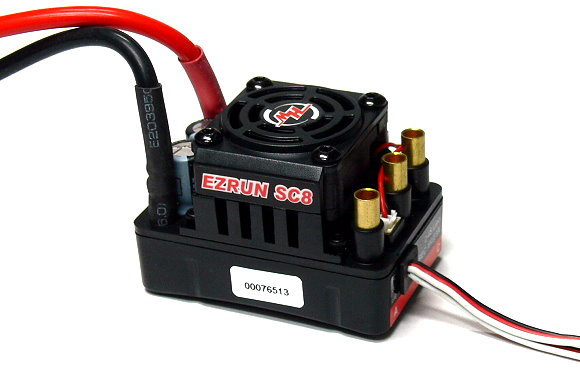 HOBBYWING EZRUN SC8 RC Model Brushless Motor 120A ESC Speed Controller SL565