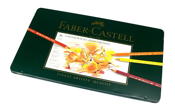 Faber Castell Colour Pencils Polychromos Tin Box 36 110036 PB396