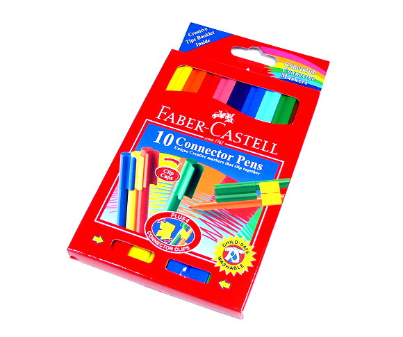 Faber Castell Colour Markers Connector Pens Wallet 10 11150A PB489