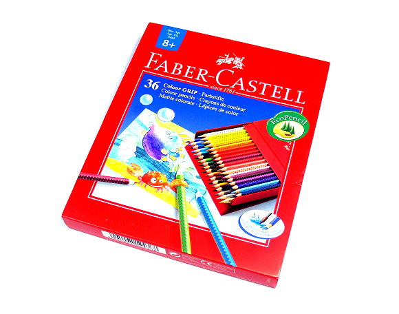Faber Castell Grip Pencils Colour Grip Set 36 112436 PB592