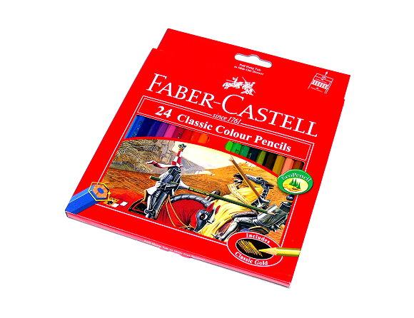 Faber Castell Classic Colour Pencils Box 24 115854 PB648
