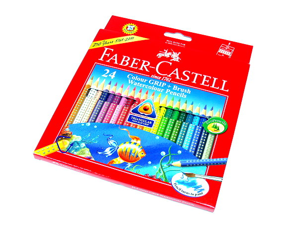 Faber Castell Grip 2001 Set Water Color Grip 24 Long (FSC) 116243 PB578