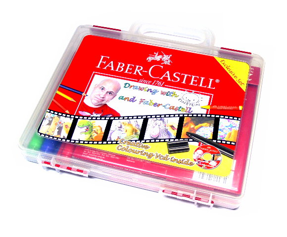 Faber Castell Gift Ideas Drawing with Einstein Set 119965 PB410